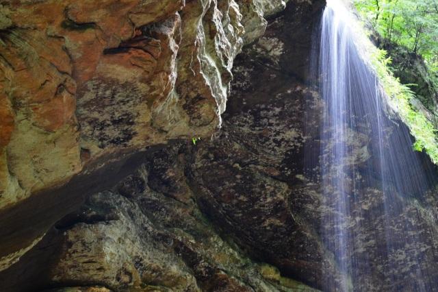 Top of Falls @ Ash Cave