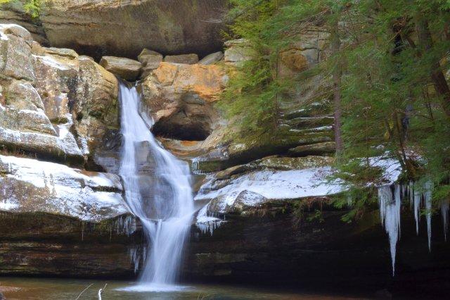 Cedar Falls in Winter