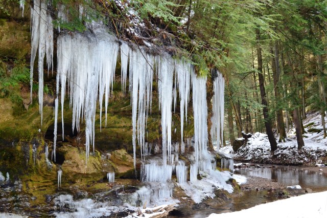 Ice Falls ~ Hocking Hills State Forest