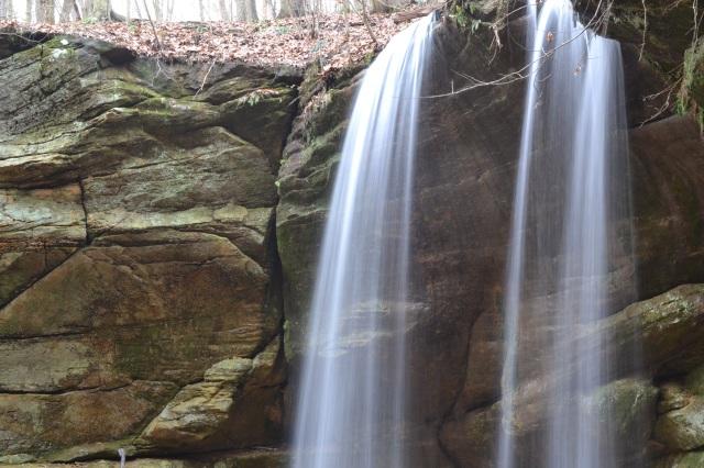Big Lyons Falls from Upper Observation Deck
